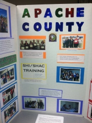 Poster from Apache County