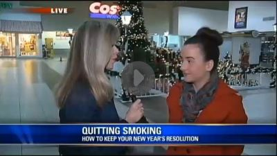 Courtney Ward, Office Chief for Tobacco Programs at the Bureau of Tobacco and Chronic Disease discusses Project Quit, ASHLine and New Year's Resolutions with Diane Ryan of Fox10 Phoenix