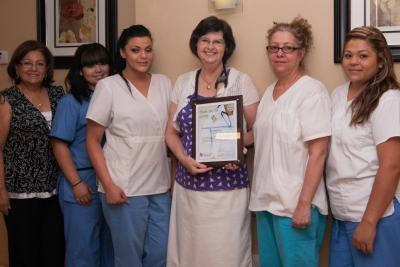 This award was presented to Providence General Medicine & Pediatrics Central Phoenix Office.