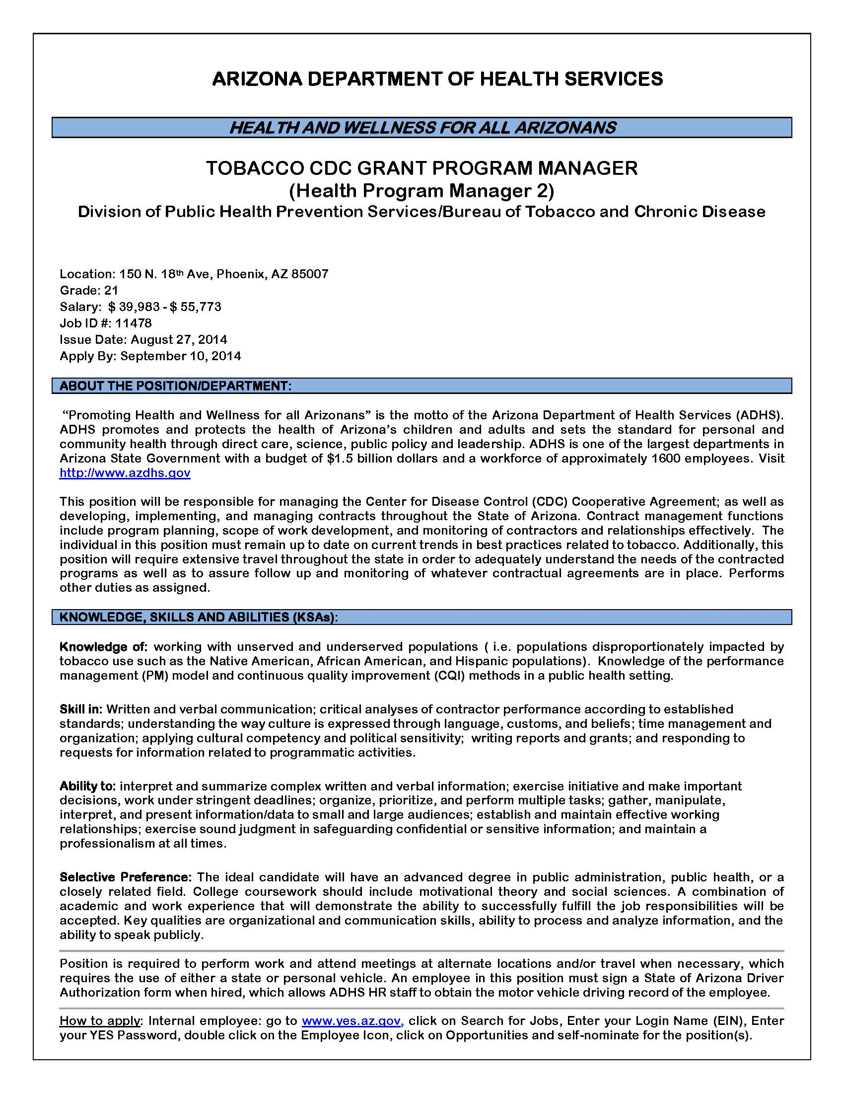 1809 hpm 2 tob cdc grant prg mgr 8 27 14page1g kristyandbryce Gallery